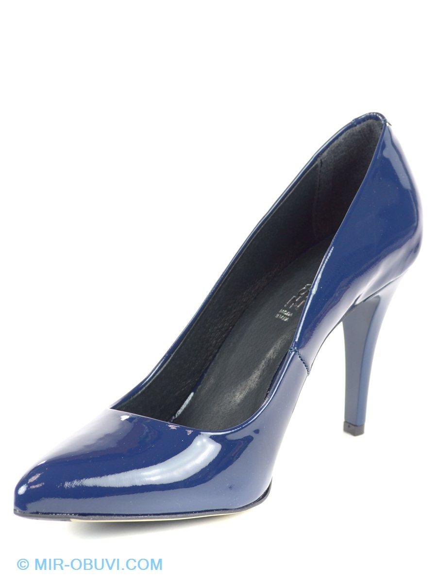 Туфли модельные женские натуральная кожа