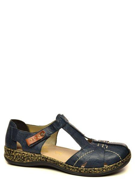 Повседневные туфли Rieker. Цвет #####. Категории: Rieker - модель №08588 - интернет-магазин mir-obuvi.com.