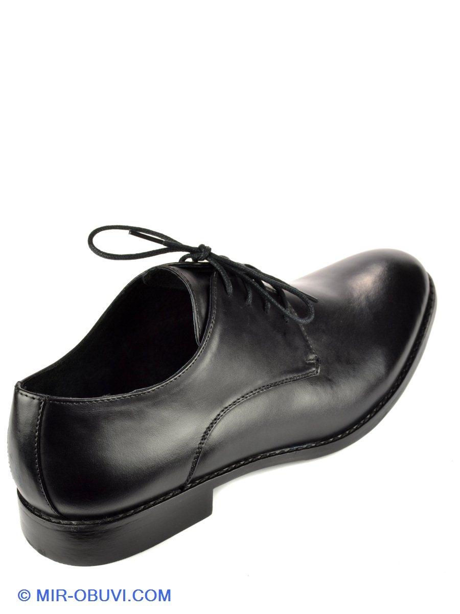 Мужские Модельные туфли Rieker. Цвет чёрный. Материал натуральная кожа. Вид  3. a53ac9b557cc6